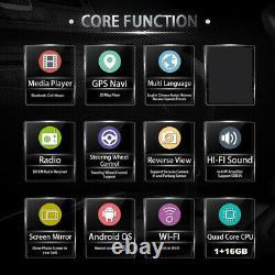 8 Pouces Android 8.1 Head Unit Car Stereo Gps Sat Nav Radio Wifi 2 Din À Écran Tactile