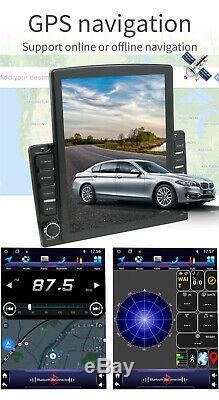 9.7 '' Android 9.1 2din Car Stereo Sat Nav Gps Bluetooth Lecteur Wifi Dvr 1 + 16 Go