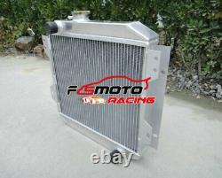 Alu Radiador Pour Ford Escort 1600 Capri Mk2/mk3 Gecp Cortina Ohv 1.3/1.6/2.0l Mt