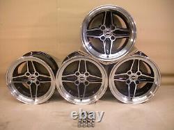 Capri Cortina Escort Ford Etc 8x15 Alloy Wheel Set Jbw Rs4 Spoke Style 15x8