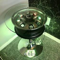 Classic Ford Escorte Corttina Capri Table De Roue De Voiture Recyclée Personnalisée Illuminée