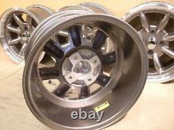 Cortina Escort Capri 8x15 Deep Dish Alliage Jeu De Roues Jbw Minilight Style, Ford