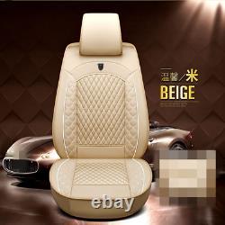 Coussin De Couverture De Chaise De Voiture De Luxe En Cuir Pu