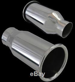Echappement Universal Inox Simple 2/3 Yfx Tuyau D'échappement-0915-3-ford 1