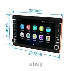 Écran Tactile 1080p 9po 2din Car Stereo Radio Gps Wifi Blutooth Mirror Link Obd