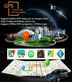 Écran Tactile Android 8.1 2din 10.1 Car Radio Stéréo Gps Dab 4g Wifi Mlk 1 + 16g