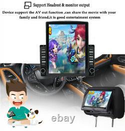 Écran Vertical 9.7 Android 9.1 Car Stereo Radio Gps Wifi 4g Bt Dab 2 Go / 32 Go