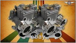 Ford 2l Pinto Escort Cortina Fajs Twin 40 Dcoe (weber) Kit De Carburateur Sidedraft