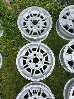 Ford Capri Mk3 Ghia Alliage Roues 5,5 X 13 Escort Cortina Fiesta Brisca Gxl Sport