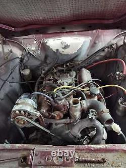 Ford Corsair 1966 Taxe Mot Exonéré 3.0 V6 Classique Projet De Restao Pas Escorte Cortina