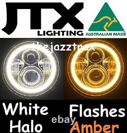 Ford Cortina Mk1 Mk2 Escort Led Halo 7 Jtx Phares Flash Amber