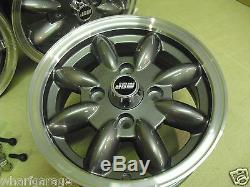 Ford Escort Capri Cortina 5.5x13 Roues En Alliage Set Jbw Minilight Style 13x5.5