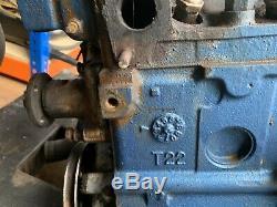 Ford Escort, Cortina, Etc. Tangentiels 1300 Kent Moteur 711m