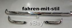 Ford Escort Lotus Cortina Mk1 Pare-chocs Pare-chocs 1063-1073 Vga K Chrome Nouveau