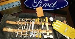 Ford Escort Mk1 Cortina Mk2 Sac À Outils Vintage New Rare