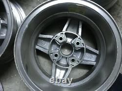 Ford Escort Mk1 Rs, Capri Rs, Cortina Lotus 4cerchi Bwa Roues 13x5,5 Vieux Stock