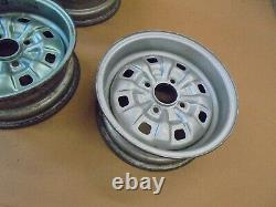 Ford Escort Rs Mk2 Steel Wheels Ensemble De 5. Suit Également 1600 Sport. Royaume-uni Style De