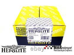 Ford X-flow / Kent 1600 Std Hepolite Piston Set 4, Escort, Cortina, Formule Ford