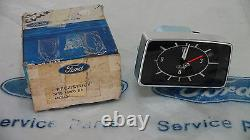 Mk2 Escort Mexique Rs2000 Ghia Cortina Capri Véritable Ford Nos Horloge