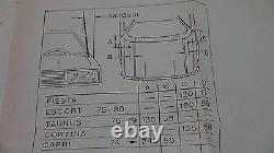 Mk2 Escort Rs2000 Mexique Cortina Capr Véritable Ford Nos Antenne Aérienne Électrique
