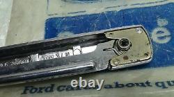 Mk2 Escort Tc Td Mk3 Cortina Genuine Ford Nos L/h Poignée De Porte Arrière Assy Chrome
