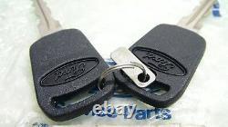 Mk2 Escort Tc Td Mk3 Cortina Véritable Ford Nos Boot Lock And Keys