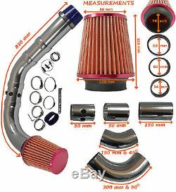Performance Universal Air Froid Alimentation Induction Kit D'aspiration Ford 1