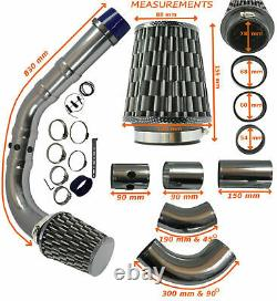 Performance Universelle Cold Air Feed Induction Intake Kit Carbon Chrome Frd1