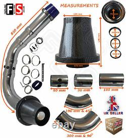 Performance Universelle Cold Air Feed Pipe Air Filter Kit Carbon 2103cr-frd1