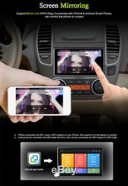 Simple 1-din Android 9.1 9 Car Stereo Radio Wifi Gps Bt Dab Mirror Lien Obd 16g