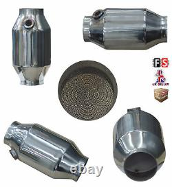 Universal T304 Stainless Sports Cat Catalytic Convertisseur 2,25 300 Cell-frd1