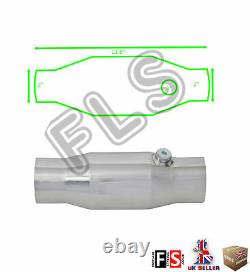 Universal T304 Stainless Sports Cat Catalytic Convertisseur 2 Pouces 200 Cell-frd1