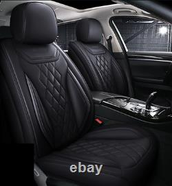 Voiture Suv Seat Covers Cuir De Luxe Pu 5 Sièges Avant + Arrière Coussins Avec Des Coussins